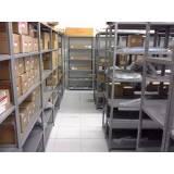estante de aço para auto peças preço Morumbi