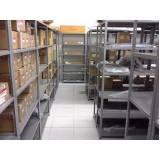 estante de aço para biblioteca Ponte Rasa