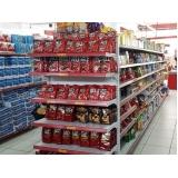 gôndolas de supermercado Vila Mazzei