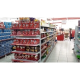gôndolas prateleira para supermercado Água Rasa