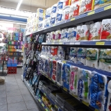 prateleira mini mercado Serra da Cantareira