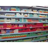 prateleira para farmácia preço Barra Funda